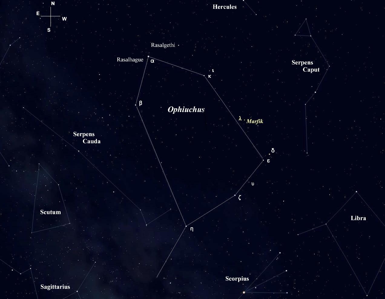 Marvelous Marfik, an Ophiuchan Jewel   Star-Splitters