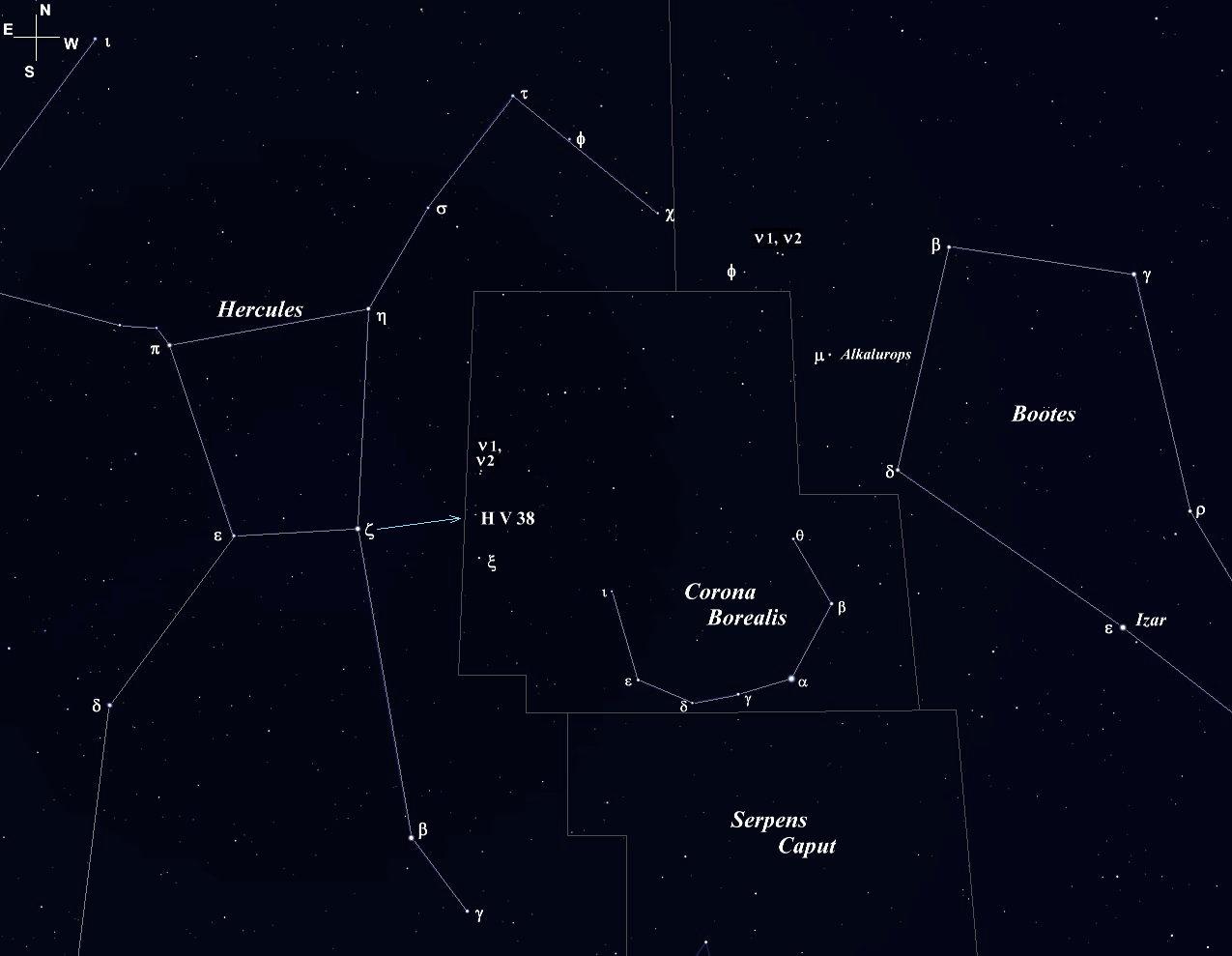 Corona Borealis Star Splitters
