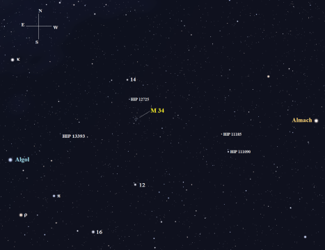 Stellarium screen image once again, click for a closer view.